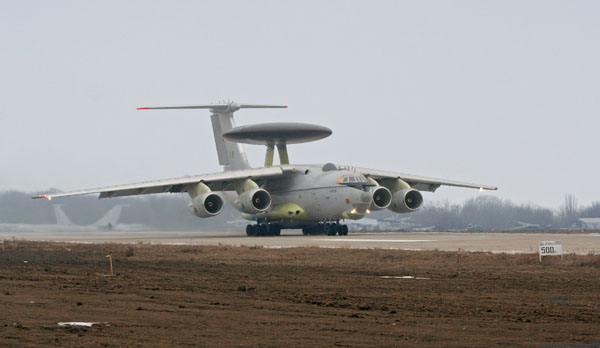 Indian Air Force's Phalcon AWACS EI